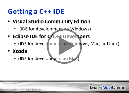 C++ 11: Getting Started